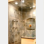 Striking Steam Shower