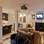 A Basement Kitchen Makes Entertaining Easy