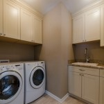 Second Floor Laundry Room Addition In Wheaton
