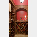 Wine Cellar Wows In Naperville Basement Remodel