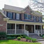 Hinsdale Porch Adds Elegance