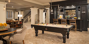 Photo: Basement Game Room