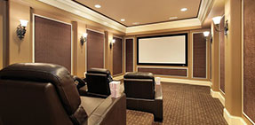 Photo: Basement Home Theater