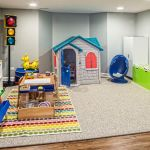 Kids Play Area In A Finished Naperville Basement