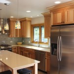 Hickory Cabinets Score In Lombard Kitchen Remodel