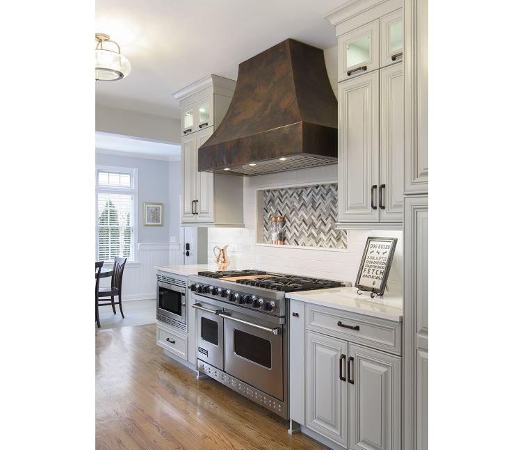 Hinsdale Kitchen Remodel Allows For Cooking In Style
