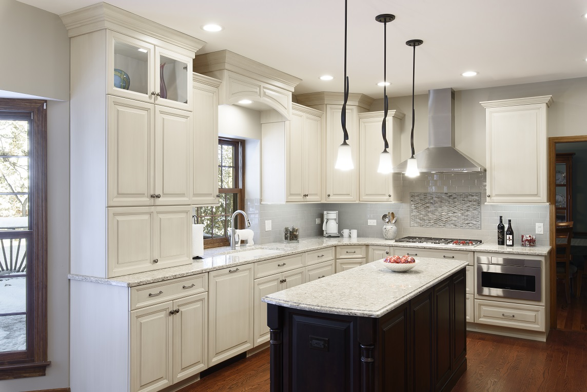 Dark And Light Delight In This Western Springs Kitchen