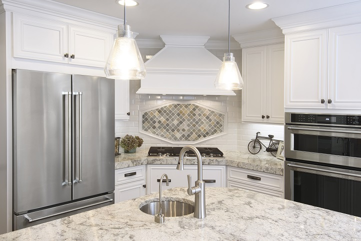 Subtle Tile Pattern Works Perfectly In This Remodeled Kitchen