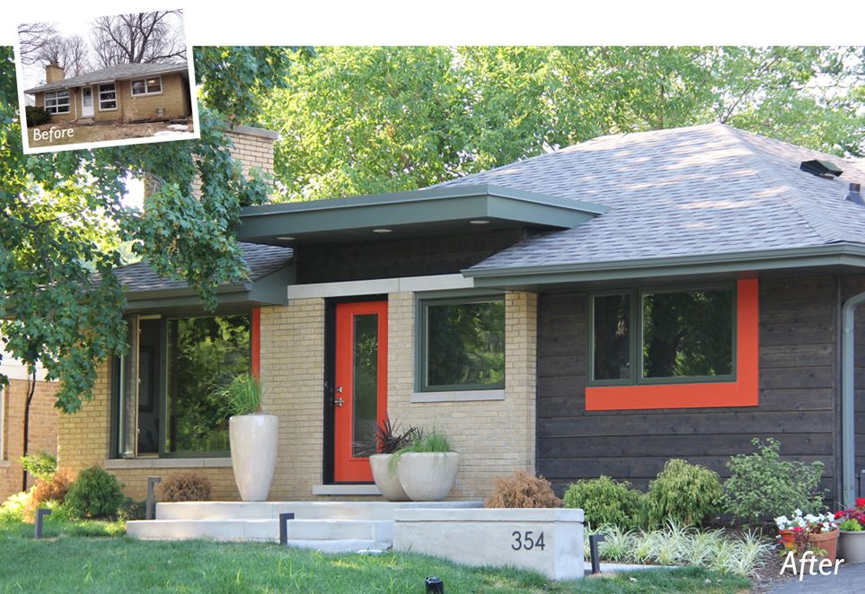Mid Century Modern Addition In Downers Grove