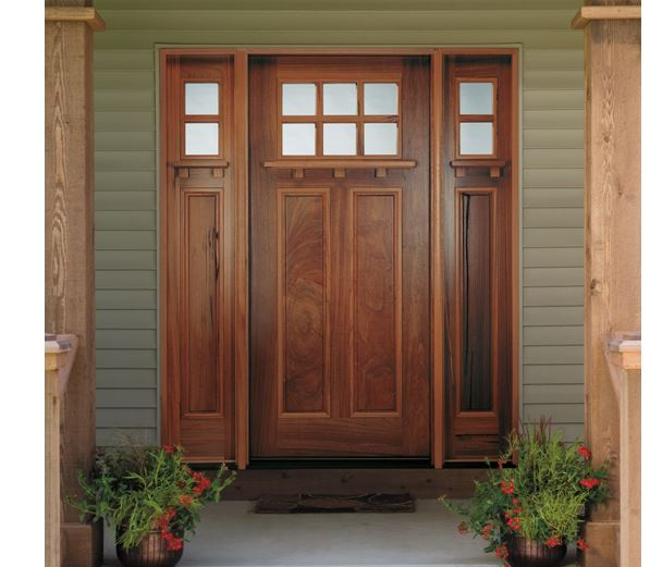 Craftsman Entry Doors Shines In Clarendon Hills