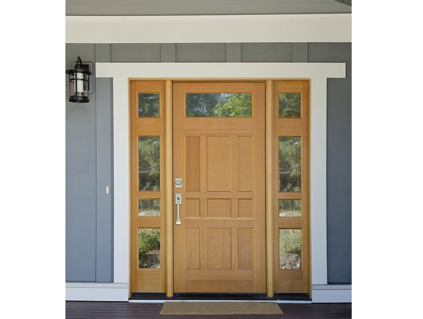 Add A Subtle Surround To Make Your Entry Door Sing