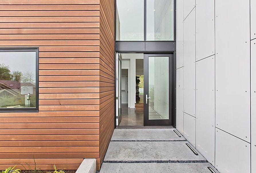 Clarendon Hills Contemporary Front Entry Door