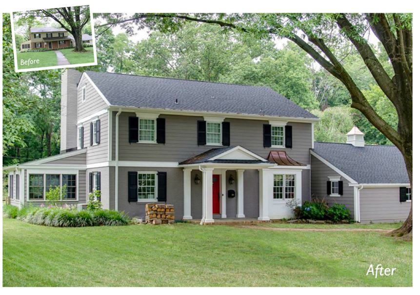 Fabulous Exterior Makeover
