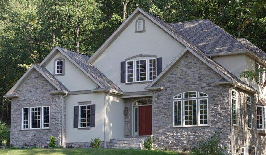 Stone Adds Special Touch On Hinsdale Home