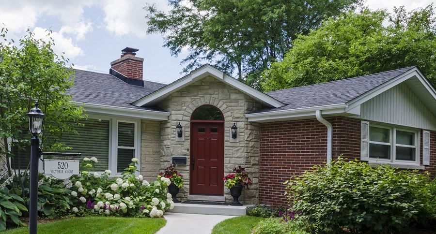 Enhanced Ranch House Rocks In Downers Grove
