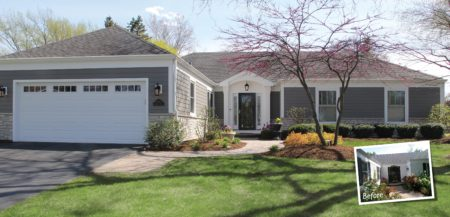 Naperville home exteriors, Naperville exterior makeovers, Naperville home renovations, Naperville window replacement, Naperville siding replacement, Naperville curb appeal